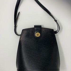 Louis Vuitton Bags - LV Cluny Black Epi Leather Bucket Shoulder Bag